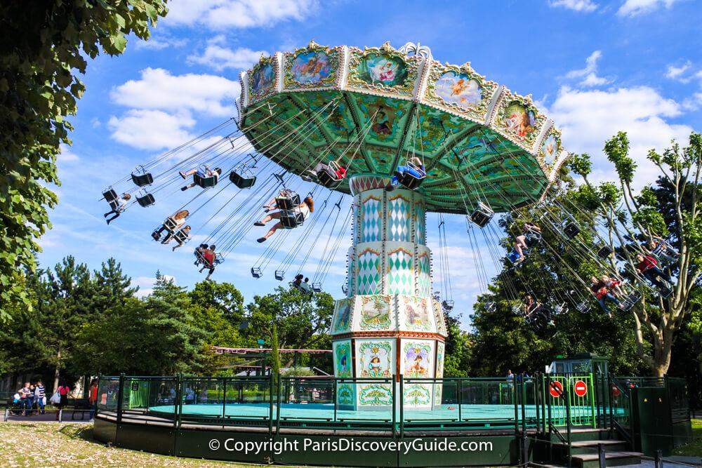Jardin d'Acclimation ride