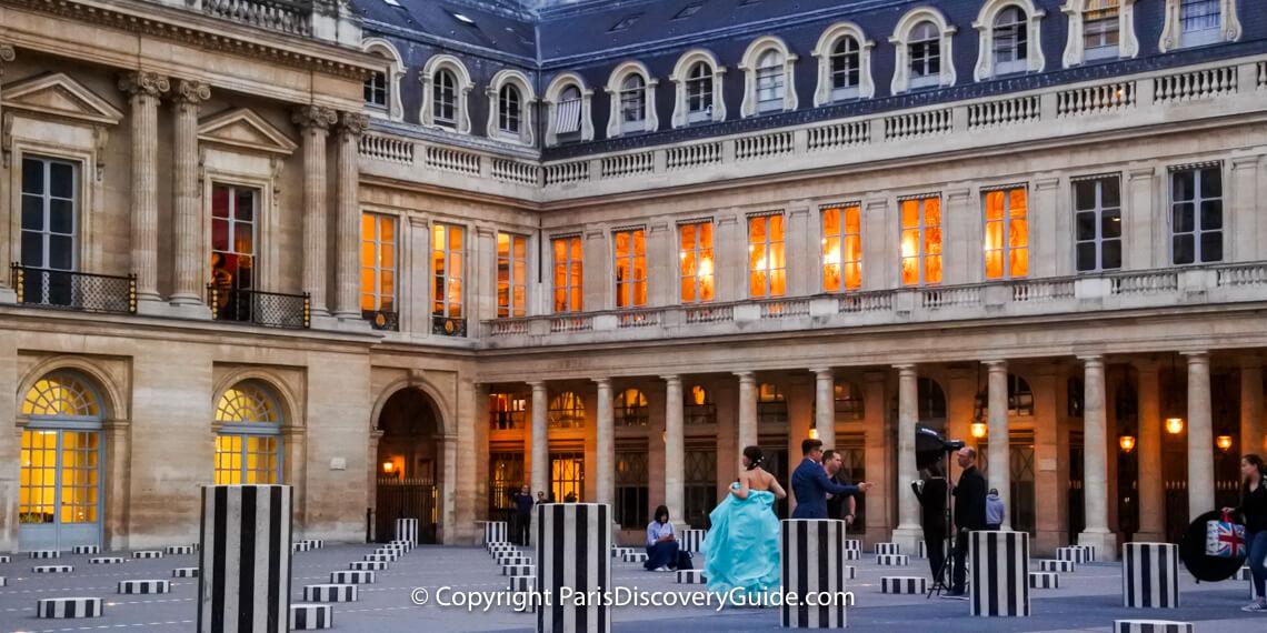 17th century Palais Royal in central Paris