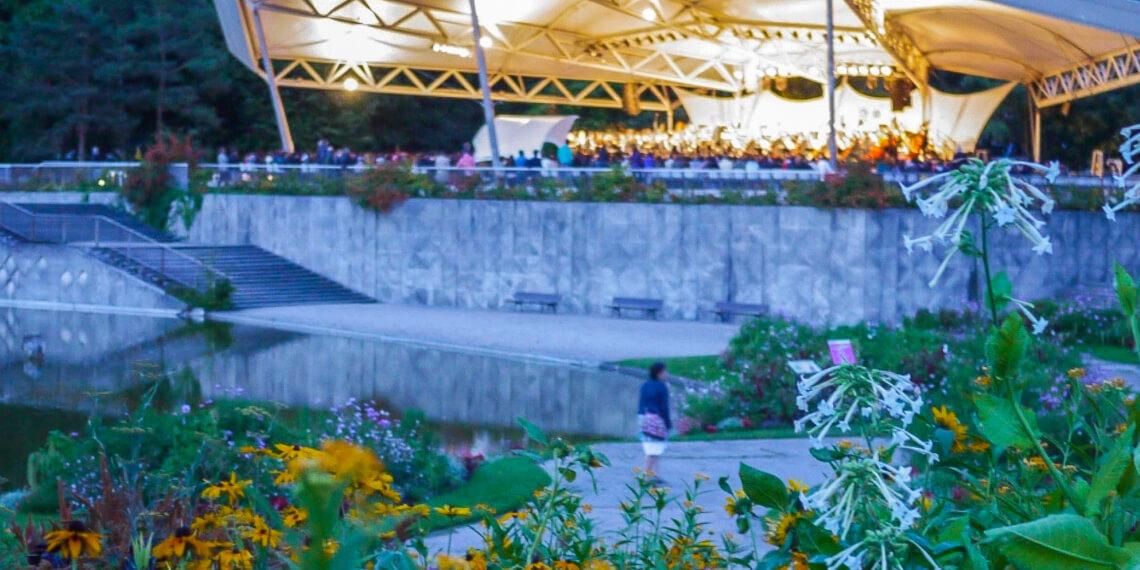 Amphitheatre at Parc Floral (Photo courtesy of Classique au Vert)