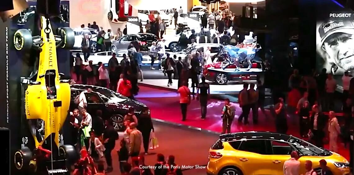 Paris Motor Show - top Paris October event