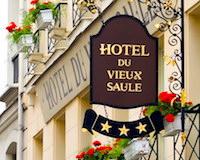 Paris hotel sign - Marais