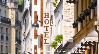 Paris hotel sign - 7th arrondissement