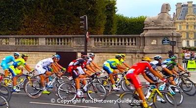 Tour de France arrives in Paris in July
