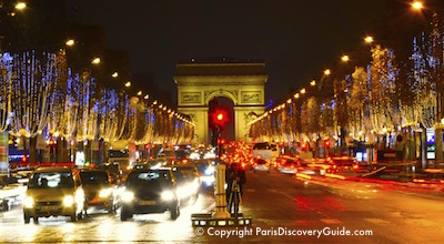 Paris events during December