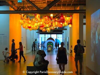 Exhibit in Pompidou Center, Paris