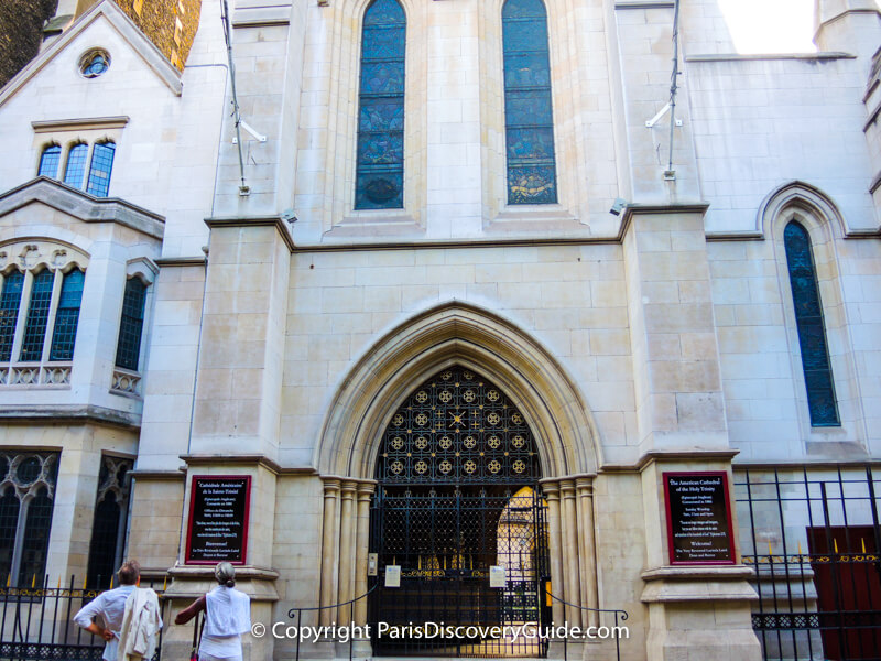 American Cathedral in Paris
