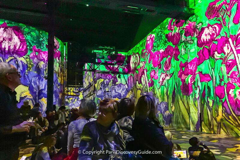Show at Atelier des Lumière