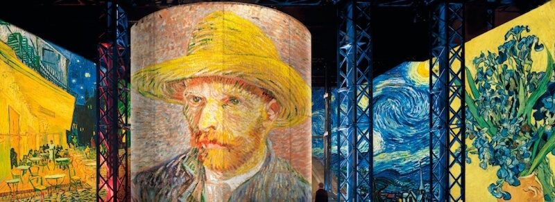 Exhibit at Atelier des Lumieres