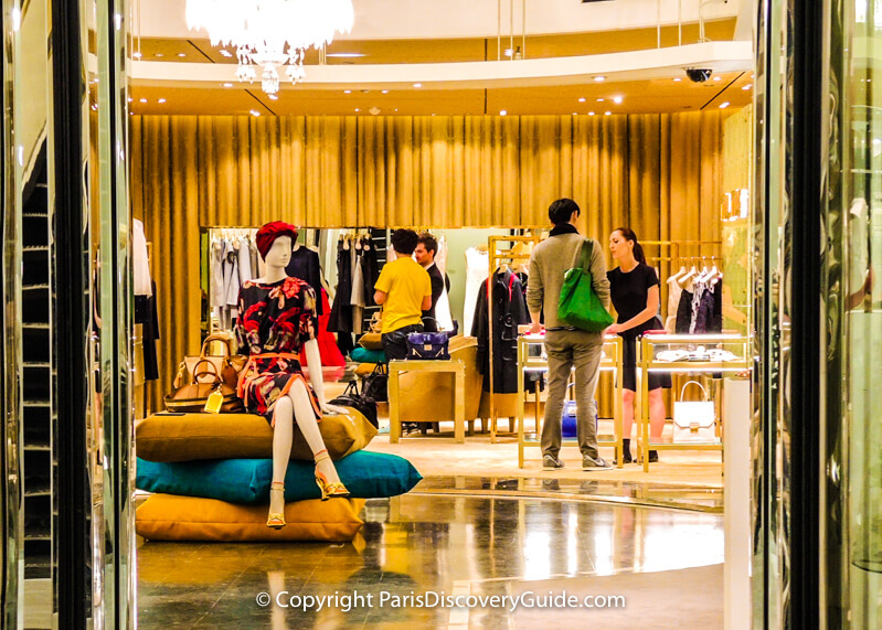 Shopping in Paris - Grand Department Stores