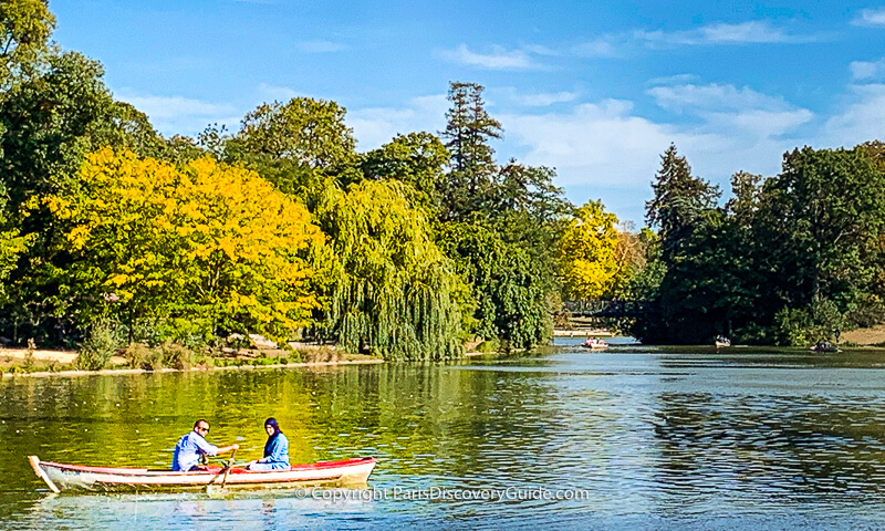 Lake at Bois de Vincennes