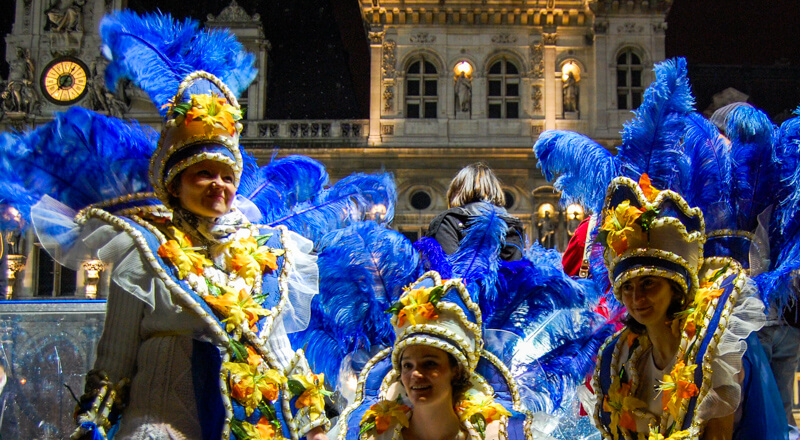 Paris Mardi Gras Parade