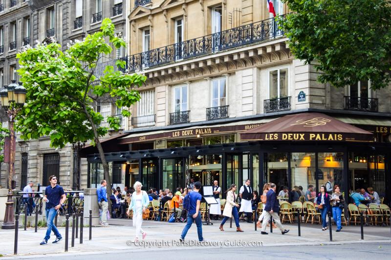 Place Dauphine, one block behind Sainte-Chapelle on Île de la Cité