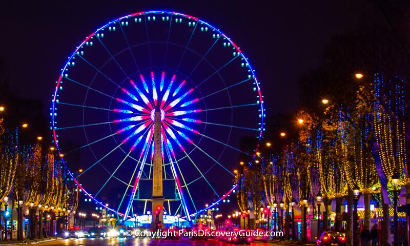 Christmas at Disneyland Paris during December