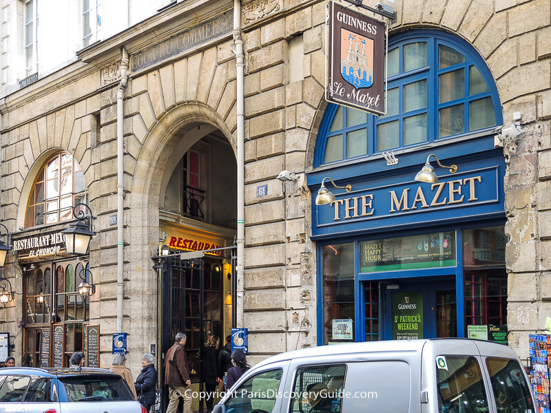 Maison Brémond (Epicerie Fine) and Relais Odeon in Cour du Commerce Saint-André