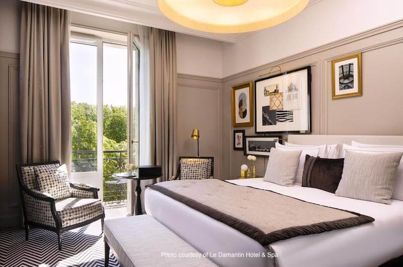 9Hotel Confidentiel in Paris's Marais neighborhood