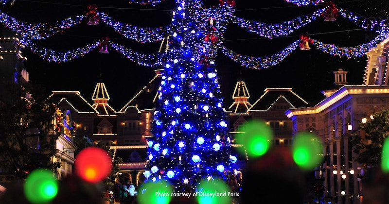 Christmas at Disneyland Paris during December