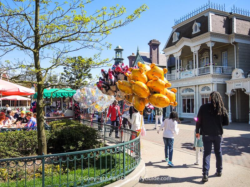Disneyland Paris in April