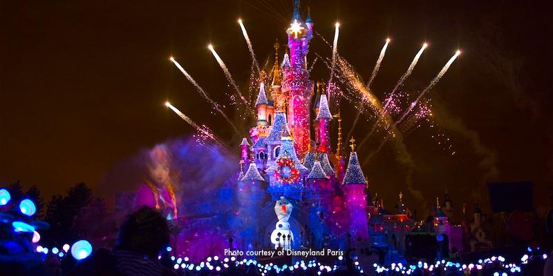 Christmas at Disneyland Paris during November