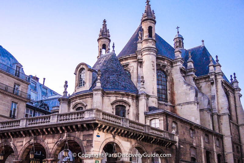 Oratory of the Louvre Church in Paris - Concert schedule