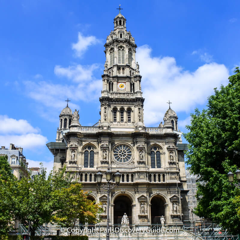Trinity Church in Paris - Concert schedule