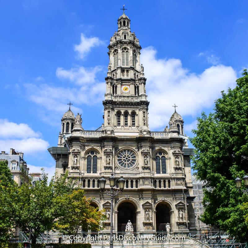Trinity Church in Paris - Concert schedule