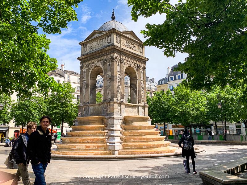 Fontaine des Innocents in the 1st arrondissement, Paris