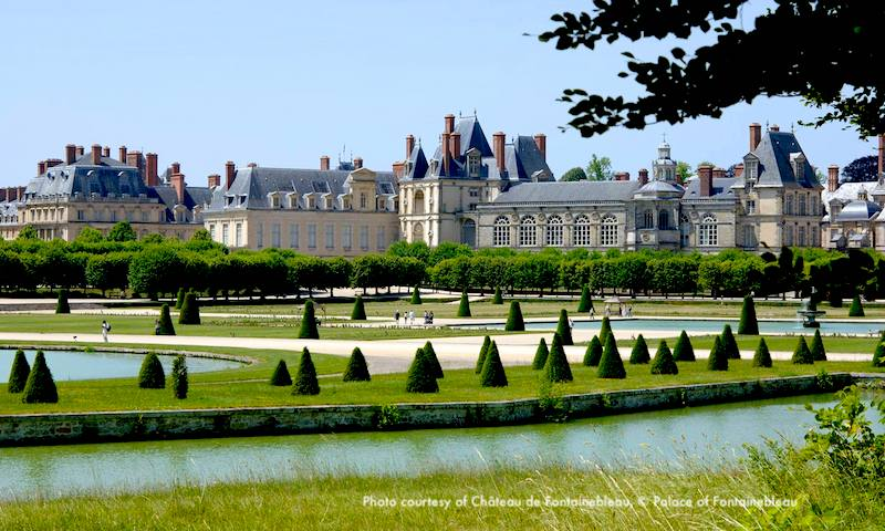 Fabulous garden and pools a Fontainebleau