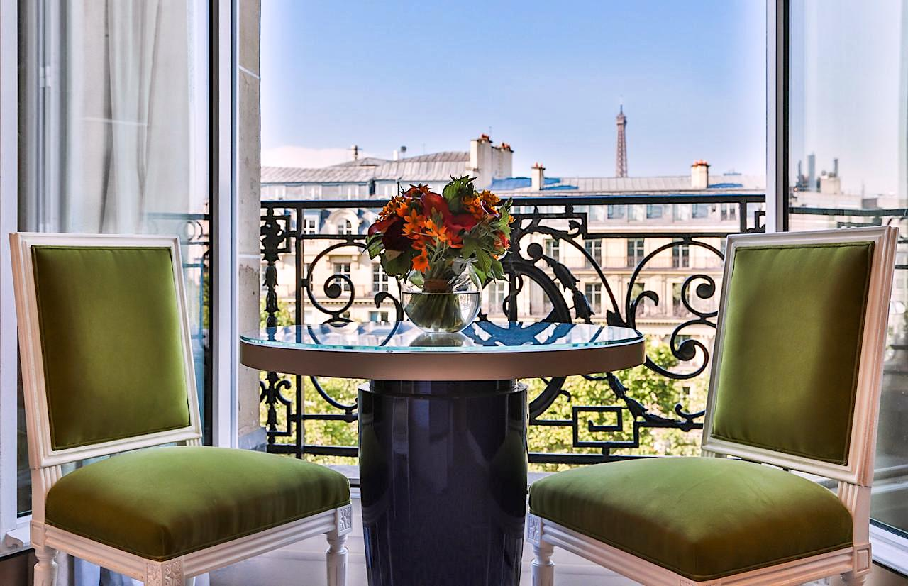 View from a guestroom at Fraser Suites Le Claridge