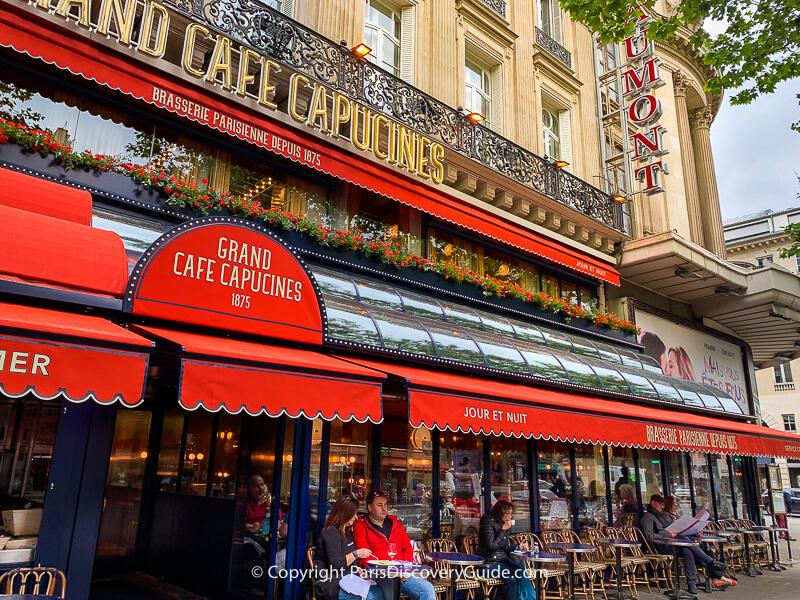 Gaumont Theatre in Paris