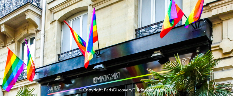 Paris Hotels near Paris Pride Parade and parties