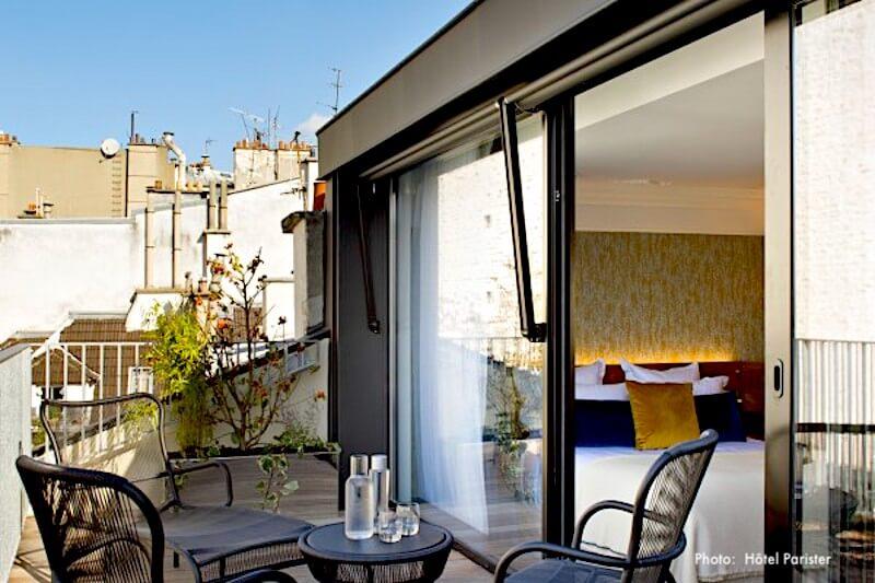 Afternoon tea at Hotel Regina in Paris
