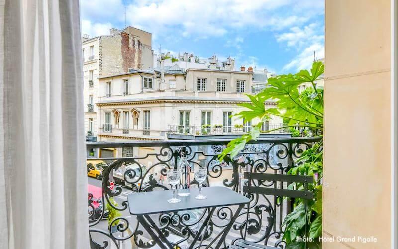 Marie Antoinette Room in Hotel Konfidentiel