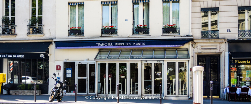 Timhotel in 5th Arrondissment - good choice for Paris Marathon visit