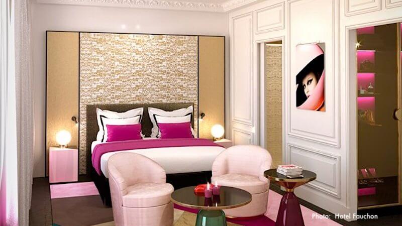Guestroom at Hôtel Fauchon
