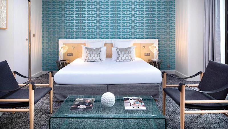 Guest room at Hotel Paris Bastille