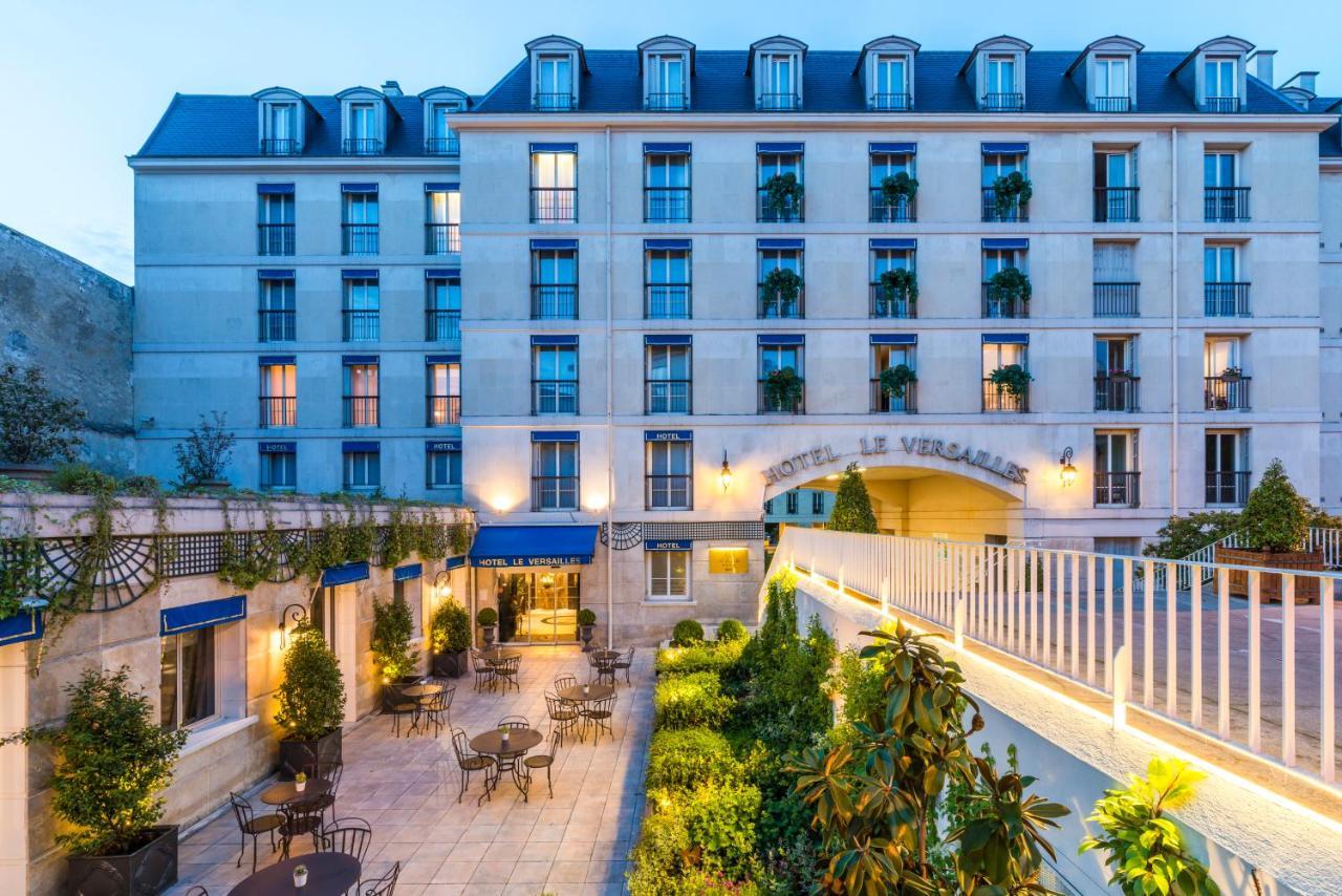 Terrace at Hotel le Louis
