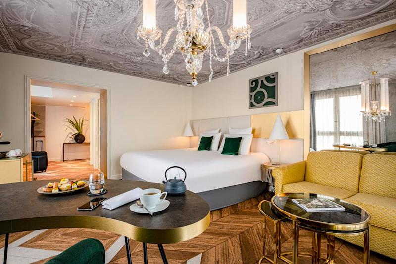 Suite at Hotel Le Louis Versailles Chateau