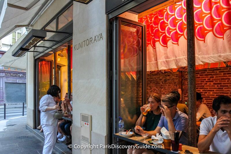 Japanese restaurant near Rue Sainte-Anne
