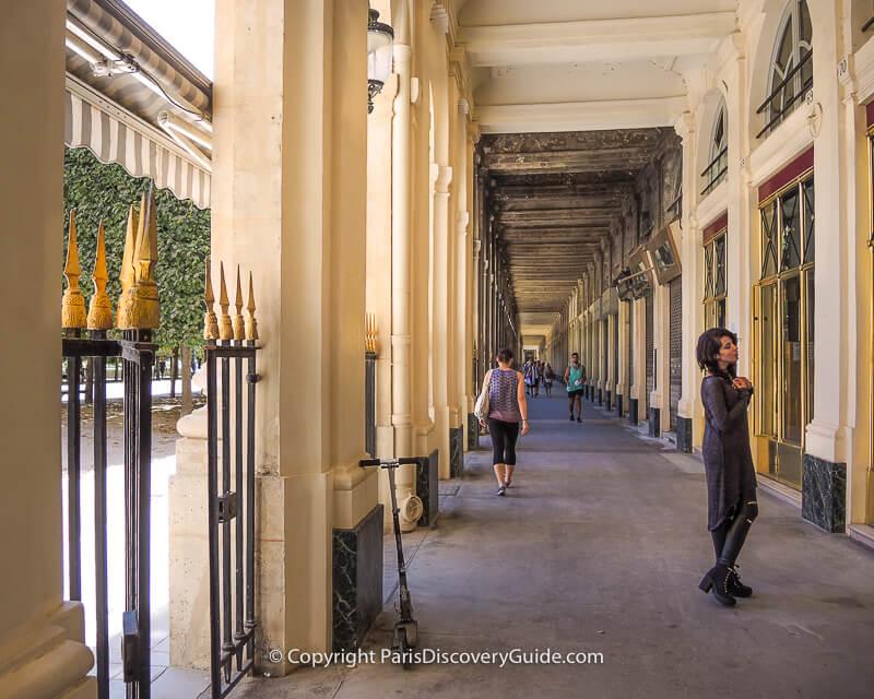 Palais Royal arcades