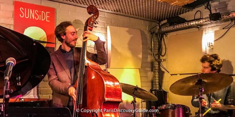Sunside Jazz Club - Saint Germain des Pres Jazz Festival Venue
