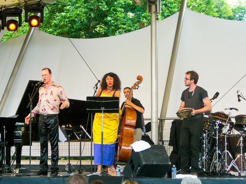 Paris Jazz Festival at Parc Floral - photo credit Sébastien Bertrand