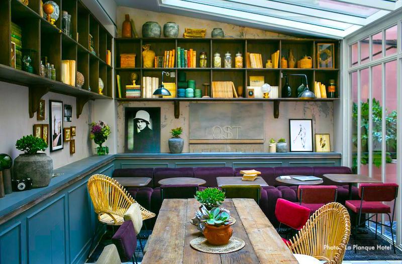 La Planque Hotel in Paris's Belleville  neighborhood