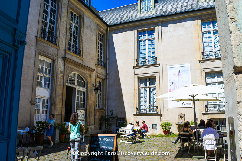 Swedish Cultural Center (Institut Suédois à Paris)