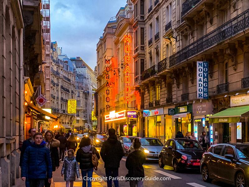 Theatre Mogador in Paris's 9th arrondissement