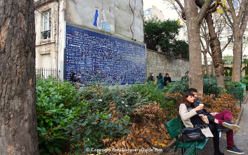 Paris - Wall of Love in Montmartre