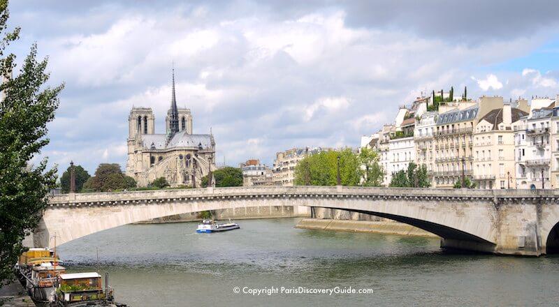 Notre Dame, Pont de la Tournelle, and Ile Saint-Louis