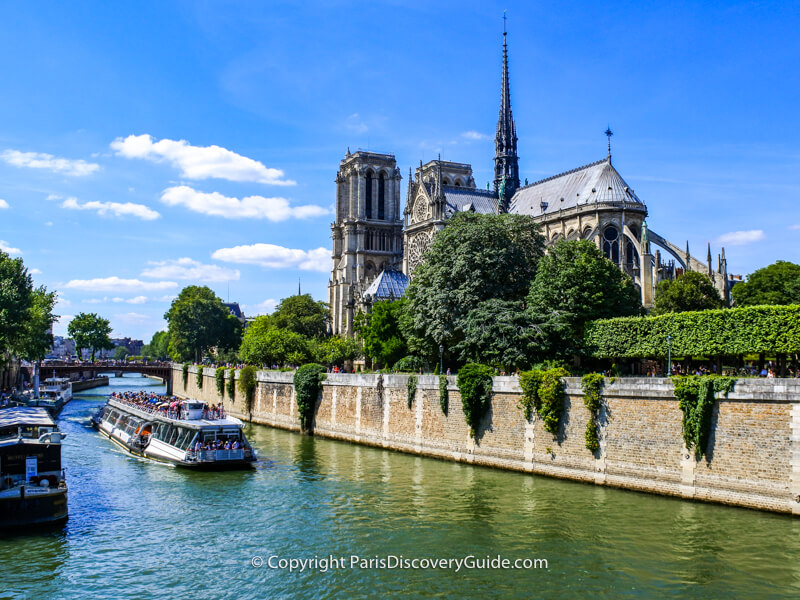 Notre Dame Cathedral before the fire