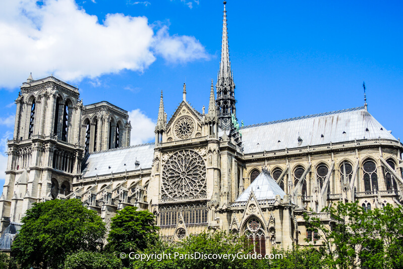 Notre Dame Cathedral - site of spectacular Paris concerts