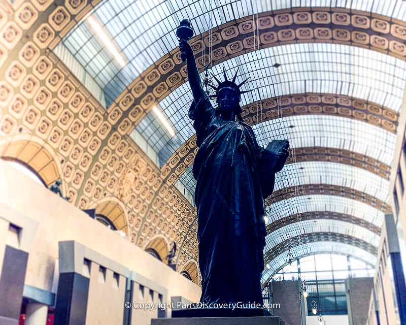 Statue of Libertyat the Orsay