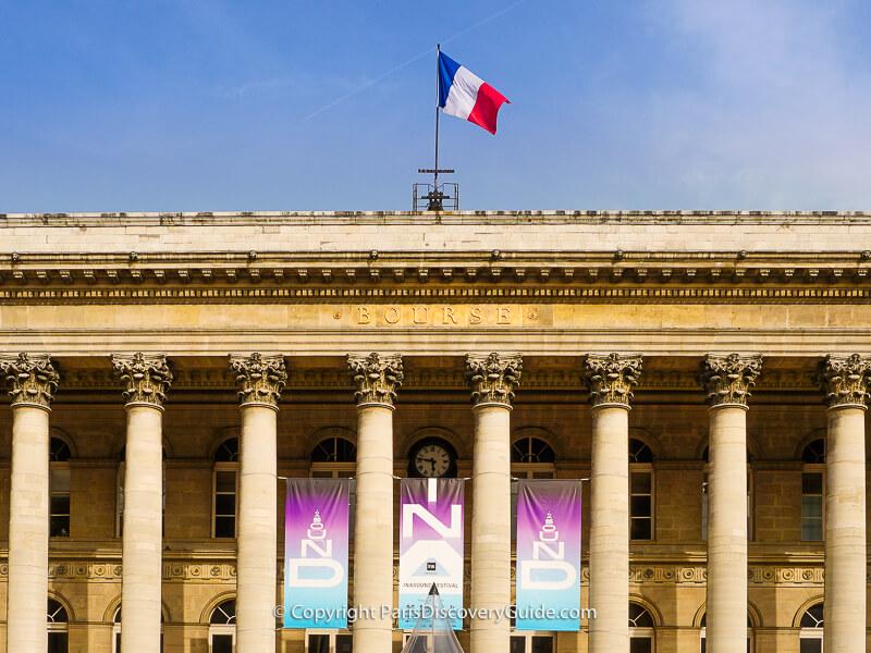 Historic Bourse in Paris 2